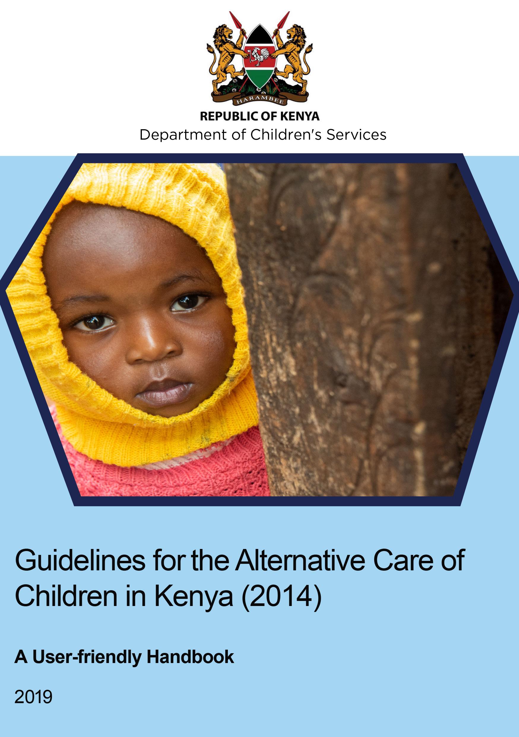 Guidelines for the Alternative Care of Children in Kenya (2014)